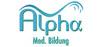 Logo: Alpha Med. Bildung