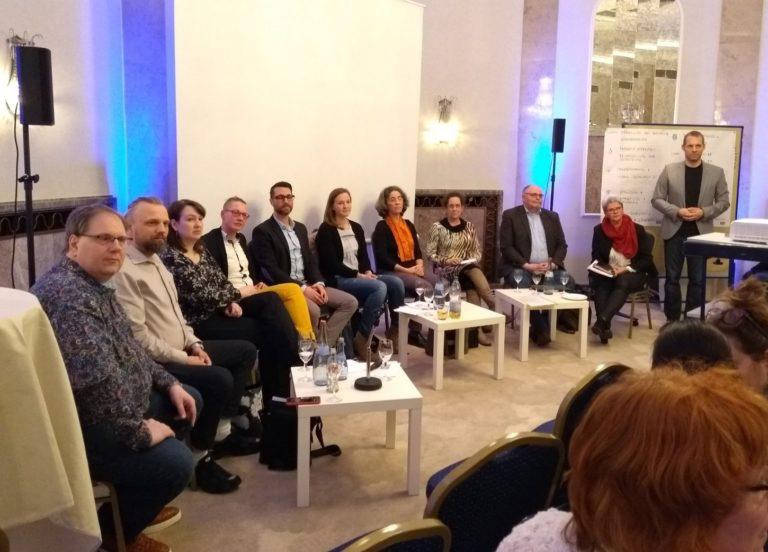 Foto der Teilnehmerrunde