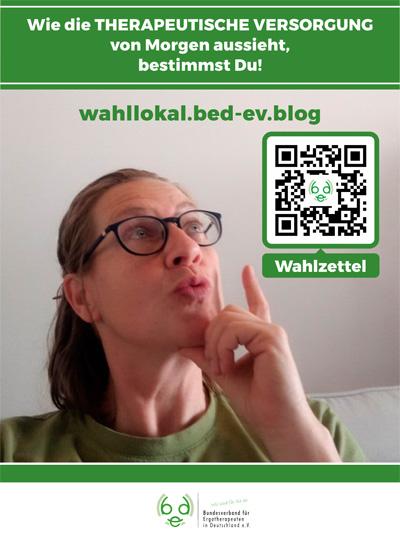 DIN A4 Plakat Onlinewahl